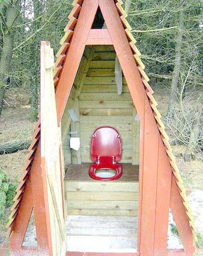 Фото - Підбираємо дачний туалет
