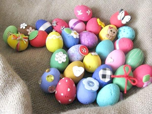 Фото - Прикраси до великодня своїми руками: декоративні яєчка