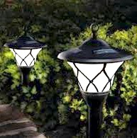 Фото - Вуличне освітлення на дачі в деталях