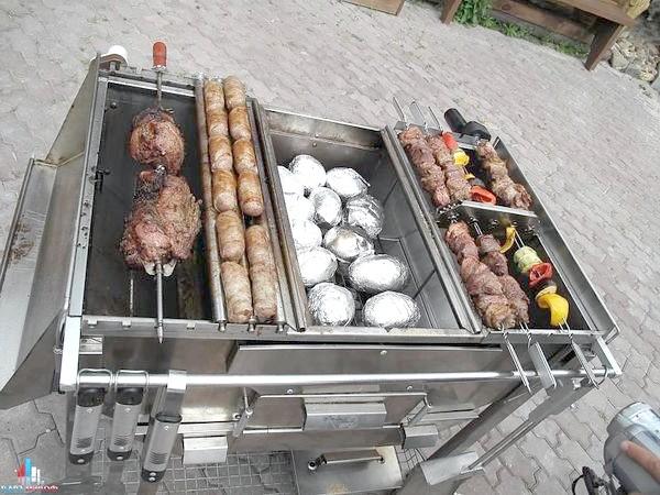 Фото - Види мангалів і барбекю